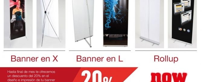 Oferta banner y roll up